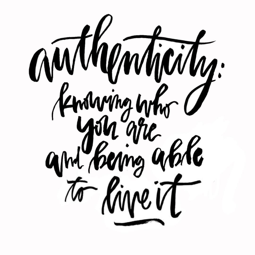 Das Streben nach Ehrlichkeit und Authentizität